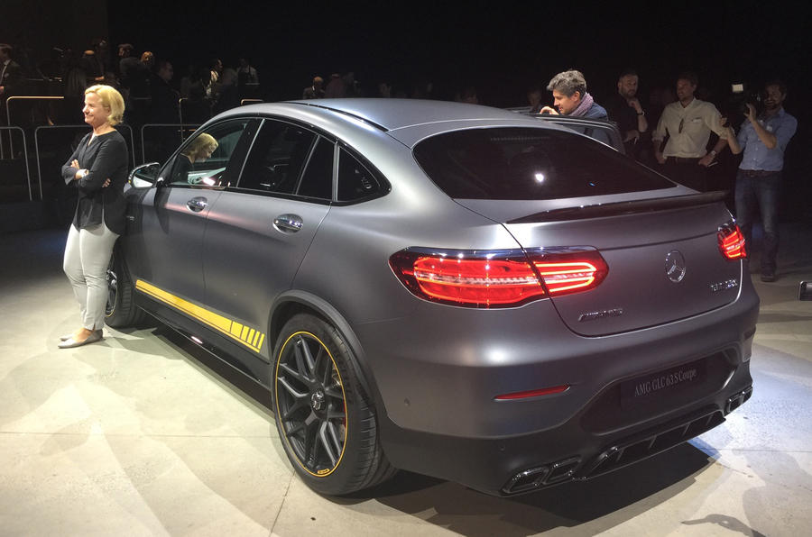 Mercedes-AMG GLC 63 and GLC 63 Coupe revealed