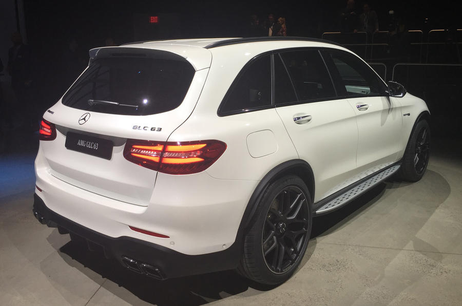 Mercedes-AMG GLC 63 and GLC 63 Coupe revealed