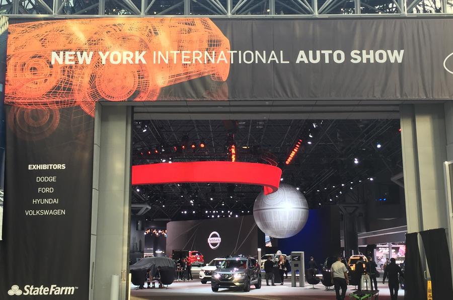 New York motor show 2017