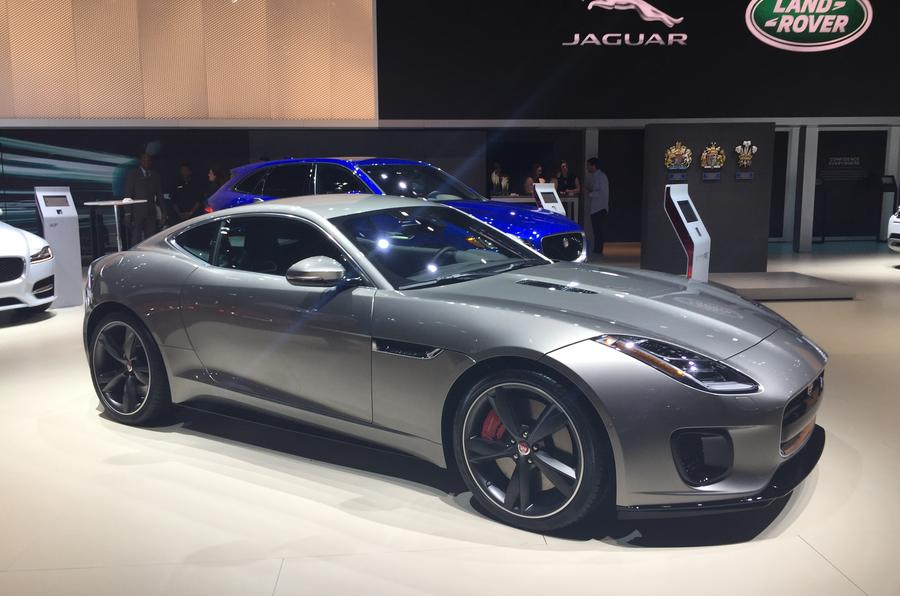 Fourcylinder Jaguar FType Revealed With Bhp Autocar - 4 cylinder jaguar