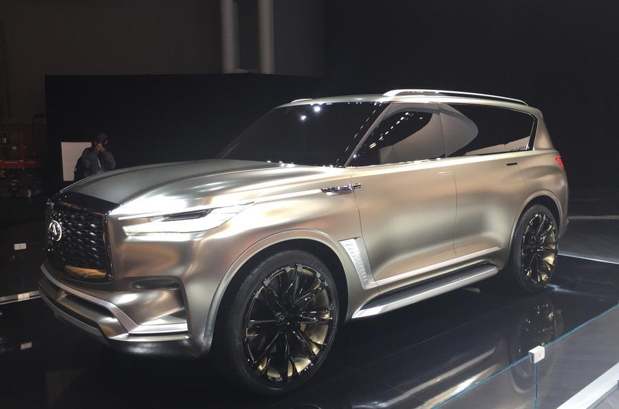Infiniti Qx80 Monograph Concept Previews Future Range Rover Rival