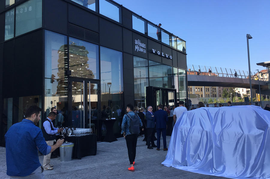 Volvo XC40 launch in Milan