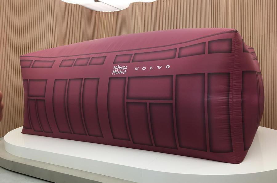 Volvo XC40 launch sheet