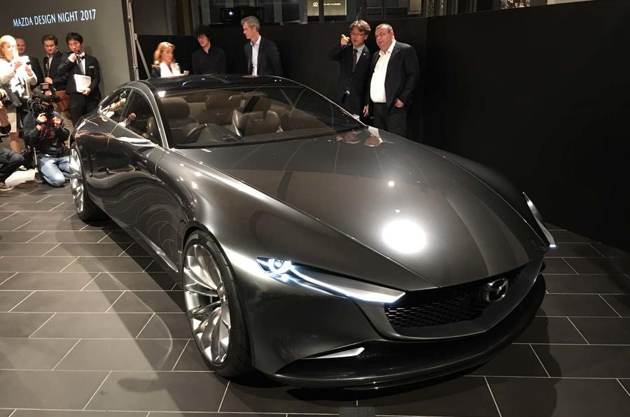 The Mazda Vision Coupe concept