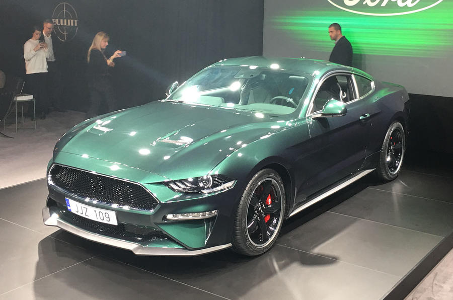 Ford Debuts Euro-spec Mustang Bullitt, Complete With 457HP V8 In Geneva