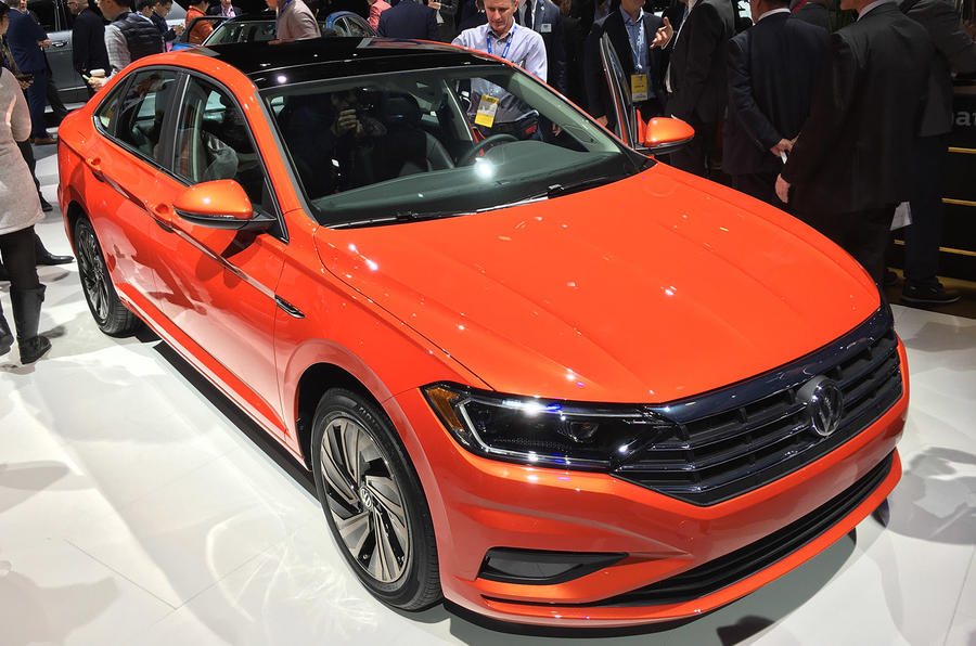 New Volkswagen Jetta introduces sharper look and eight-sd auto ...