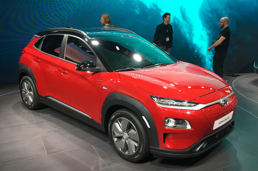 Hyundai Kona Electric gets 292-mile range, 7.6sec 0-62mph time