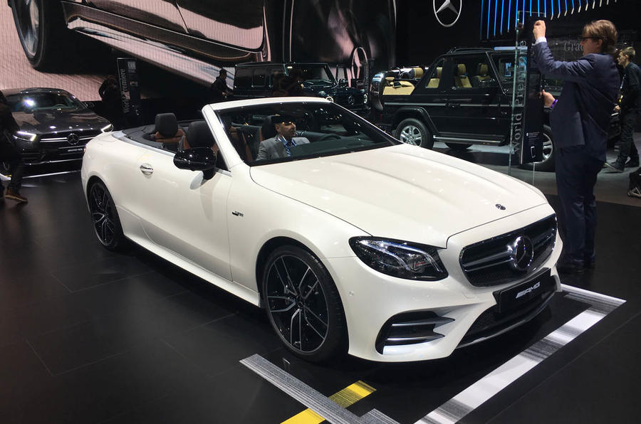 Mercedes AMG performance hybrids aim for electrifying performance