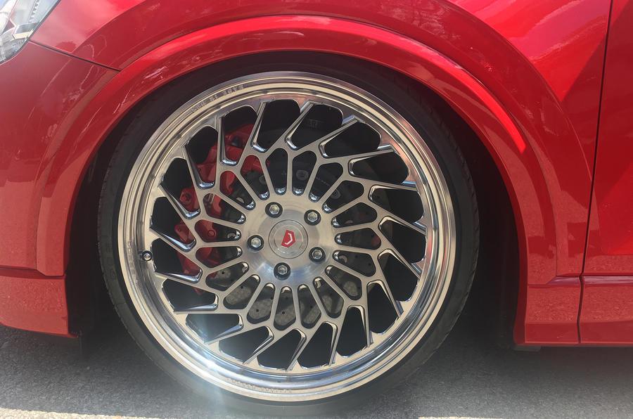 Vossen Forged wheels Worthersee