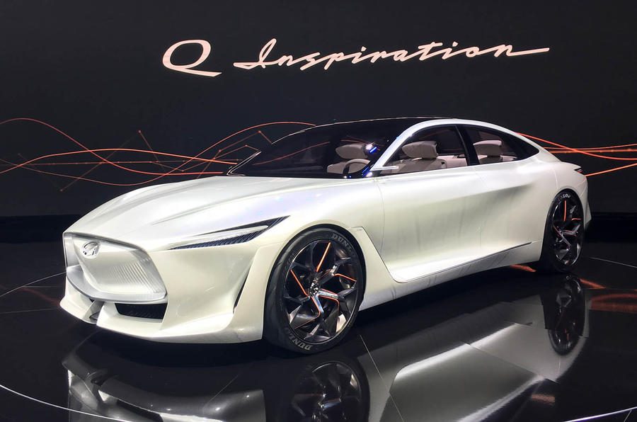 infiniti to launch only electrified cars from 2021  autocar