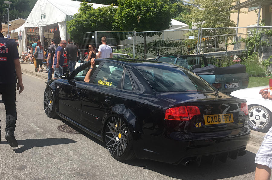 Audi RS4 Worthersee
