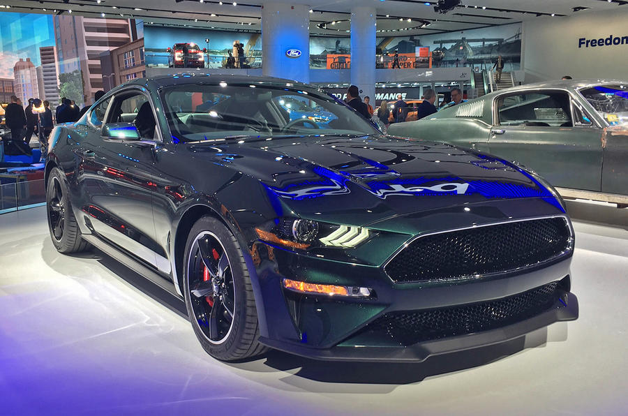 Ford confirms Mustang Bullitt special edition will be sold in Europe