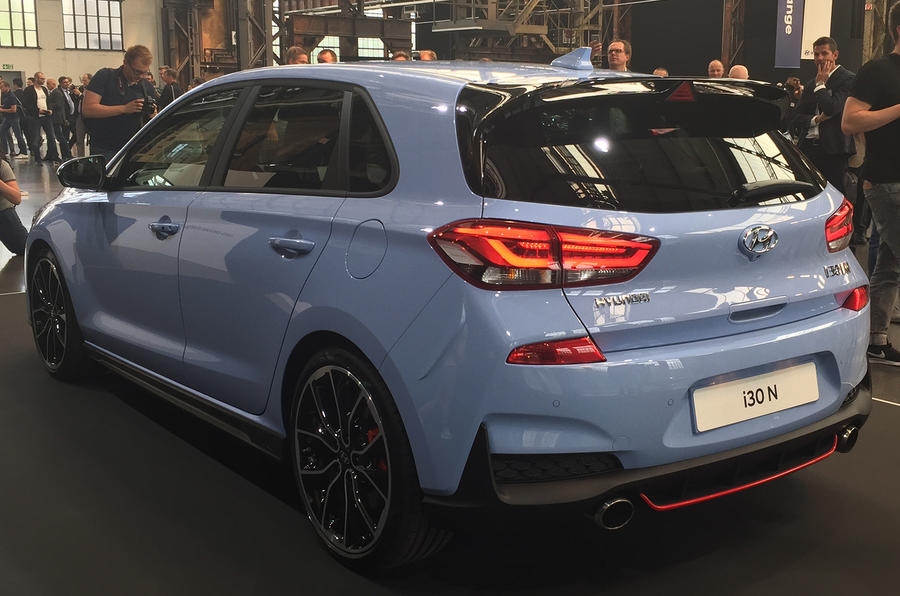 hyundai i30n full details of 271bhp hot hatch autocar. Black Bedroom Furniture Sets. Home Design Ideas