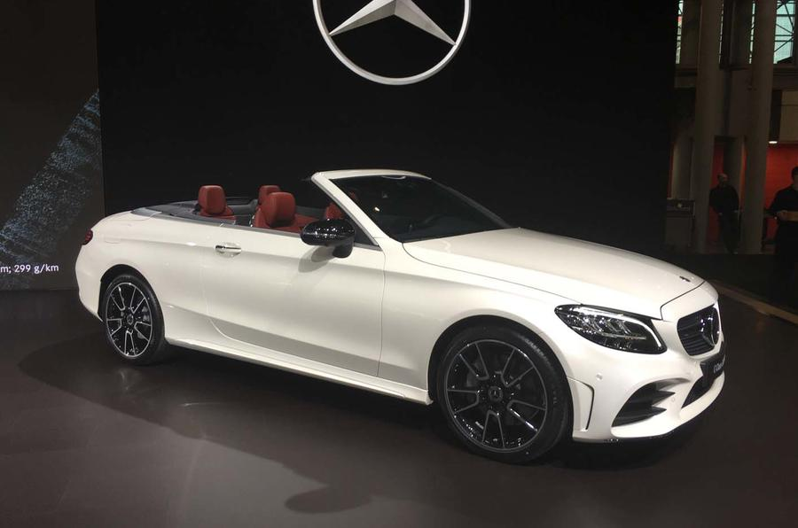 Mercedes benz c class coupe priced from 37 620 cabrio from 41 439 autocar - Mercedes c class coupe convertible ...