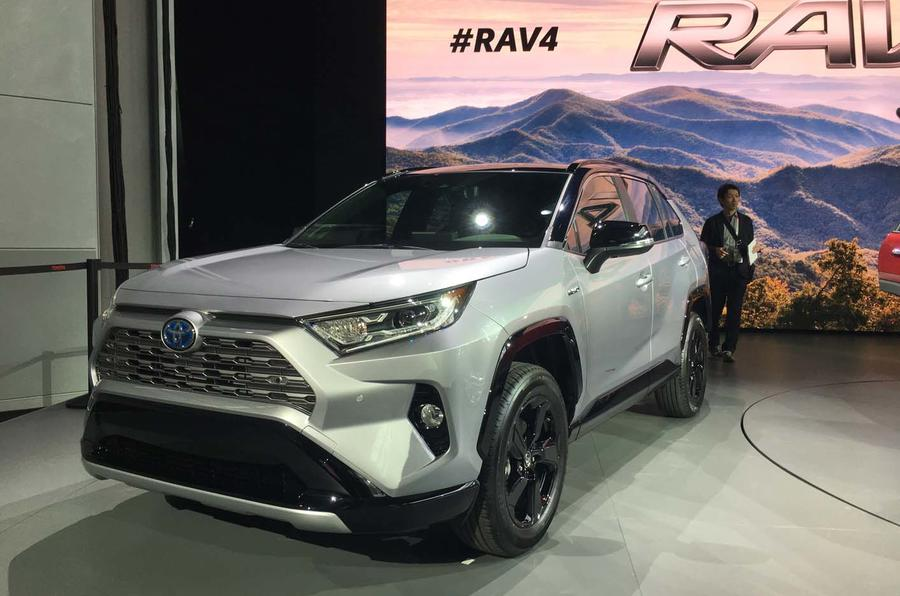 All-new Toyota Rav4 debuts with macho design