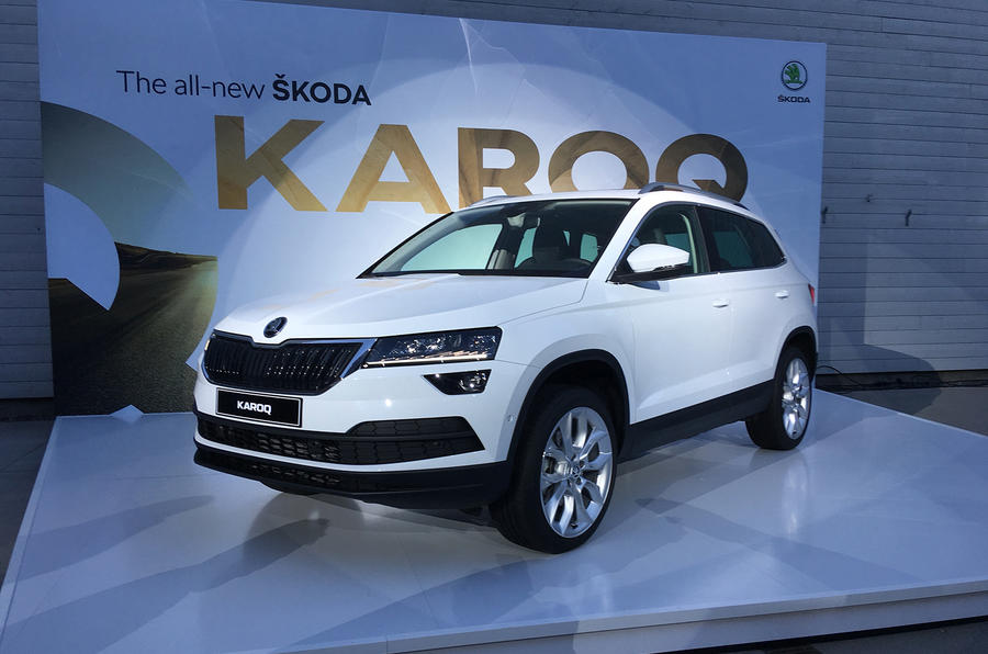 new skoda karoq suv priced from 20 875 autocar. Black Bedroom Furniture Sets. Home Design Ideas