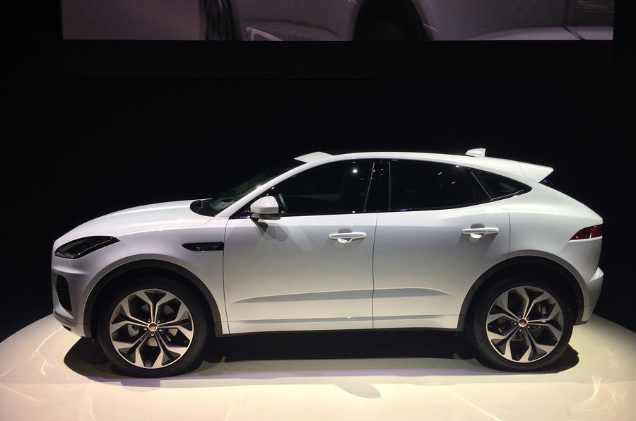 Jaguar e pace release date