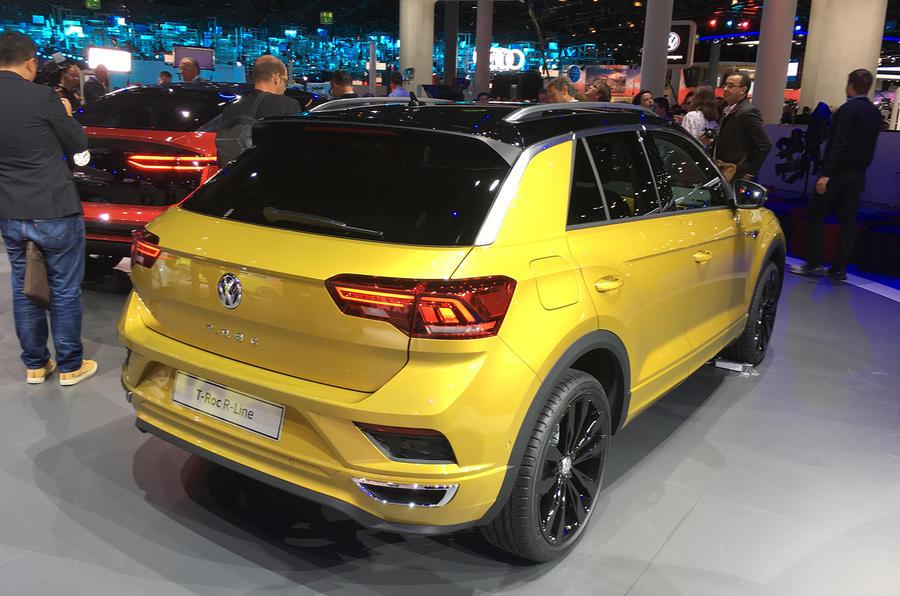 Volkswagen T-Roc R Line Frankfurt motor show