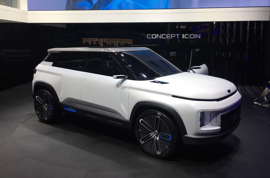 New Geely Concept Icon uses Volvo XC40 platform | Autocar