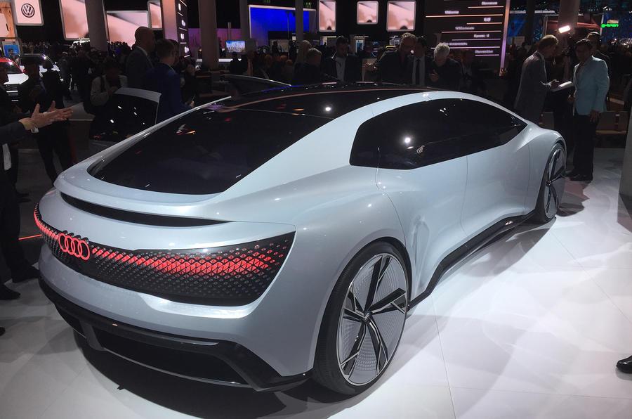 Audi Aicon concept Frankfurt motor show