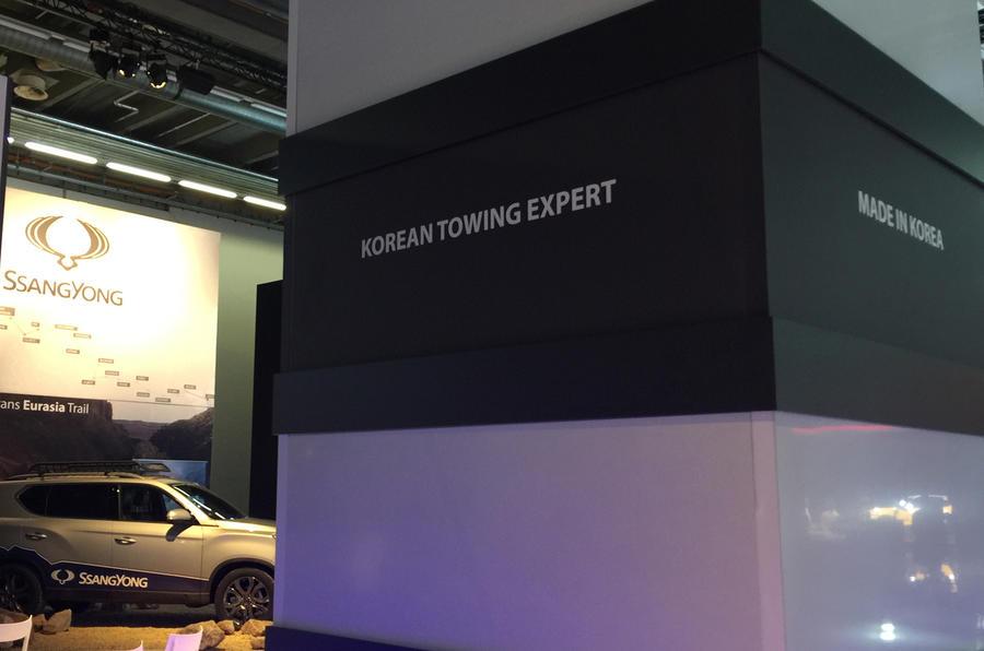 Ssangyong Frankfurt motor show