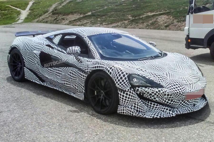 McLaren 600LT To Get Top Exit Exhausts ...