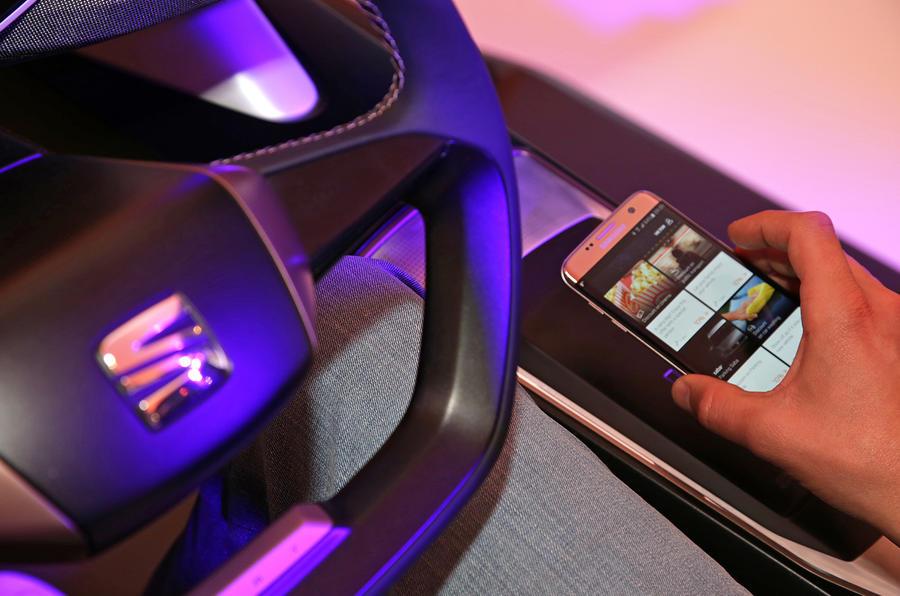 Seat phone app