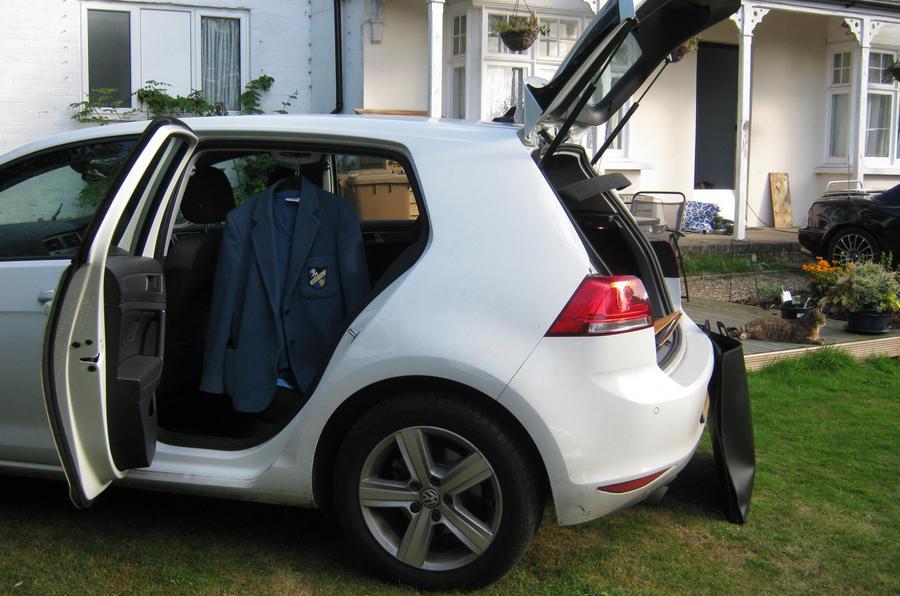 Volkswagen Golf long-term test review: the school run
