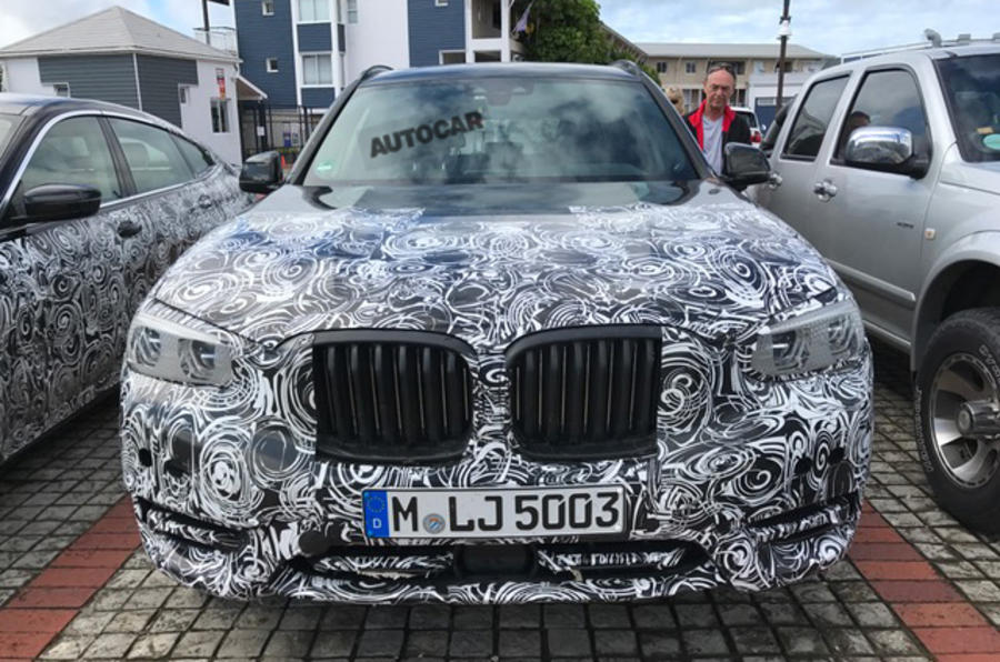 2017 BMW X3 and X3 M performance model - latest spy pictures