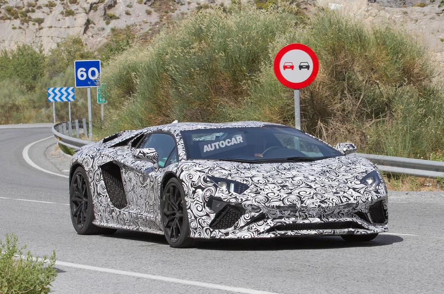 2017 Lamborghini Aventador To Get More Aggressive Aero Package Autocar