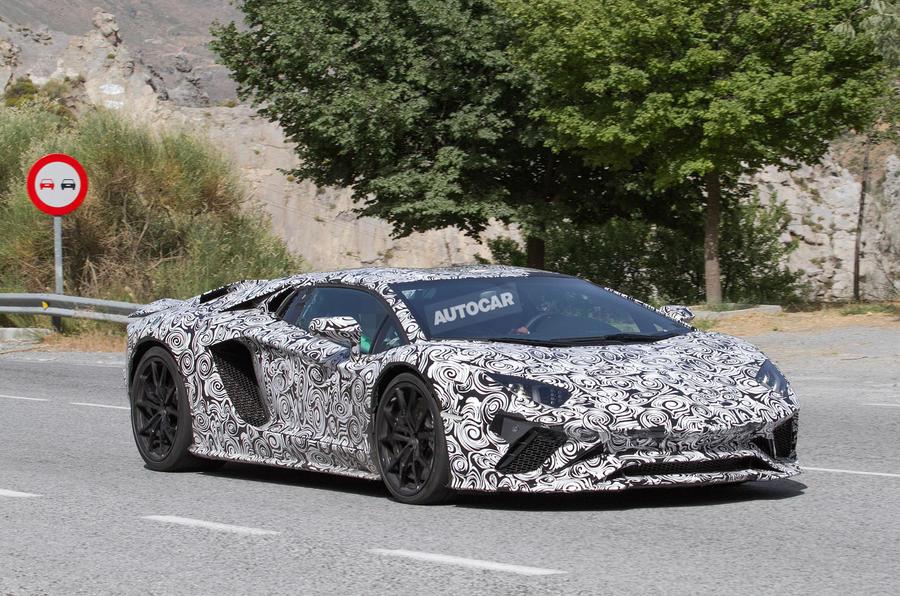 Lamborghini aventador facelift