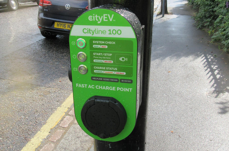 City EV 3kW charger