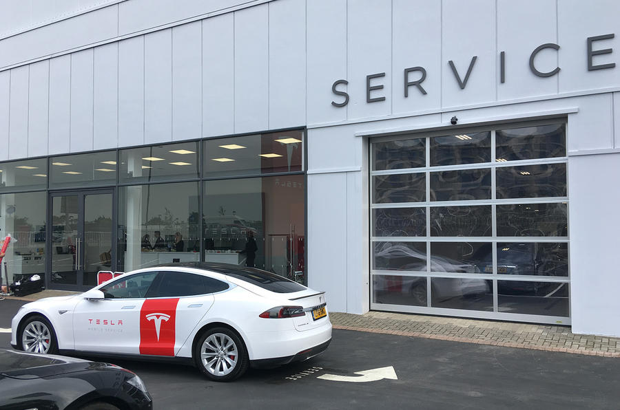 Tesla launches converted Model S as mobile use vehicles