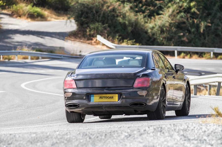 Bentley Flying Spur Speed spyshots