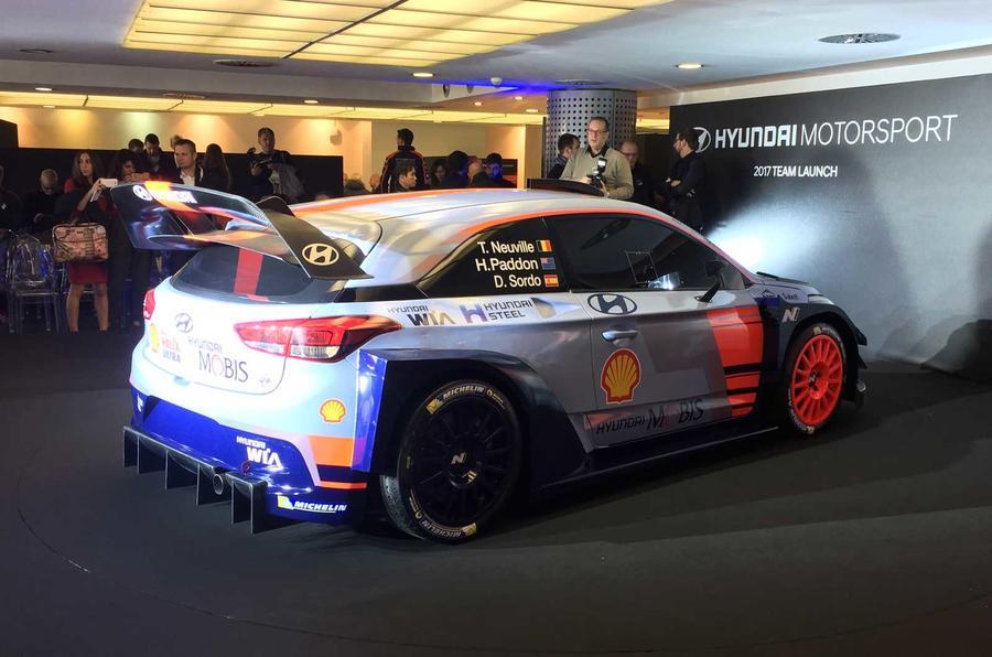 Excellent 2017 Hyundai I20 Coupe WRC  New Preseason Testing Pics  Autocar