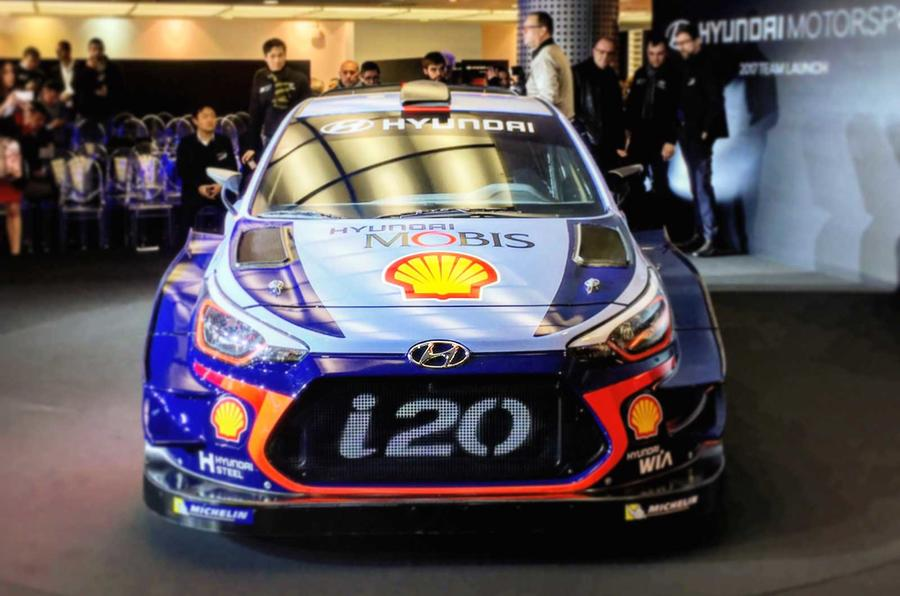 Fantastic 2017 Hyundai I20 Coupe WRC  New Preseason Testing Pics  Autocar