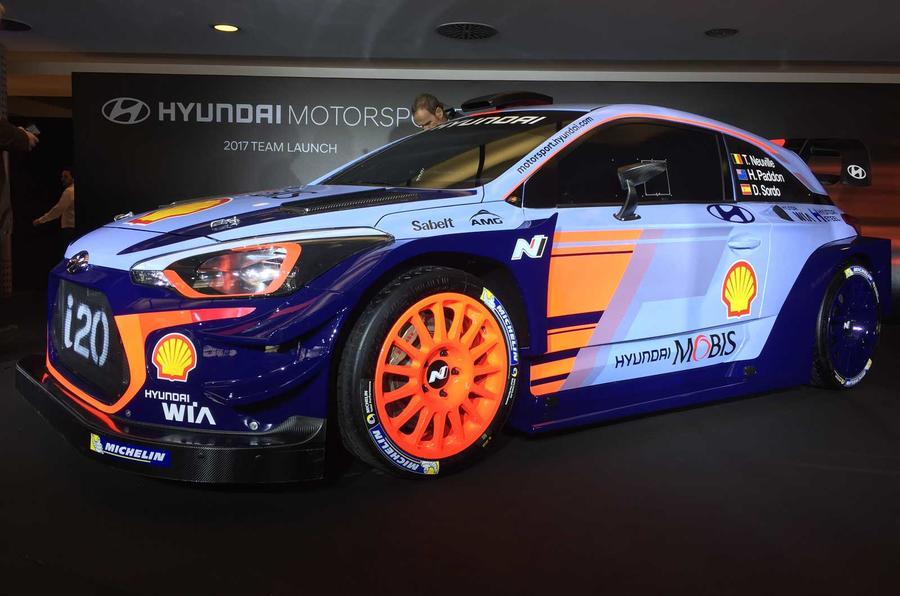 Perfect 2017 Hyundai I20 Coupe WRC  New Preseason Testing Pics  Autocar