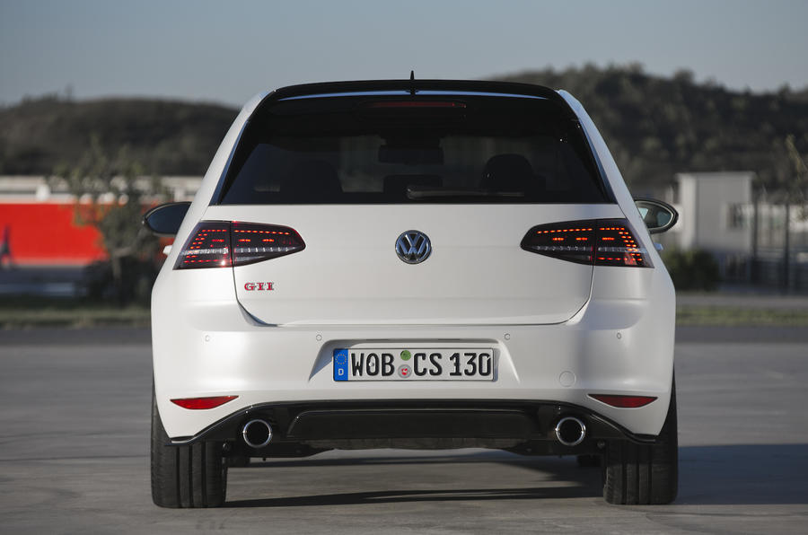 Volkswagen Golf GTI Clubsport rear