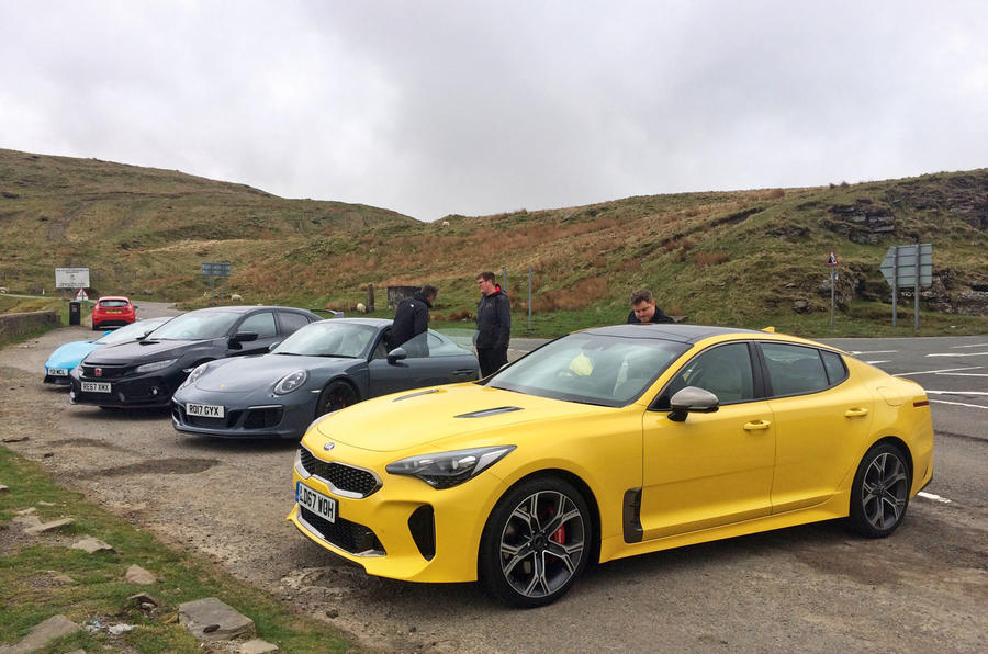 Kia Stinger GT S long-term review group test