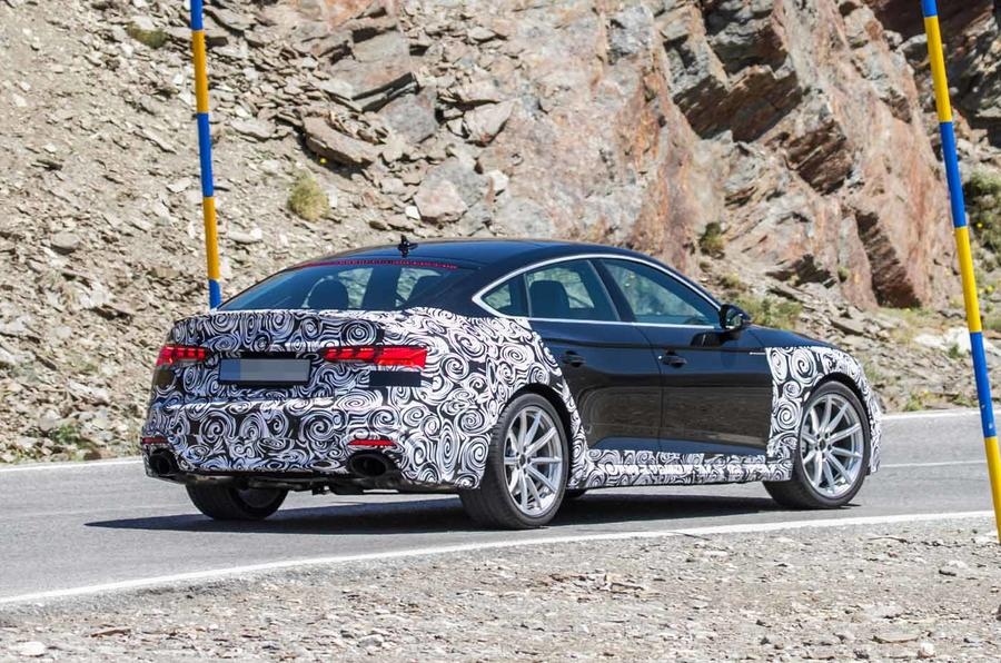 New 2019 Audi RS5 Sportback rear