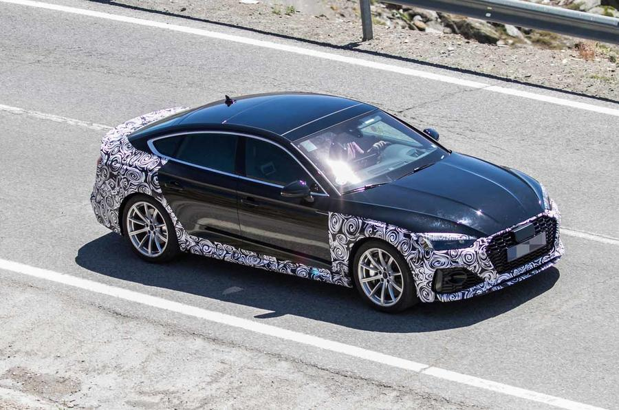 New 2019 Audi RS5 Sportback side front
