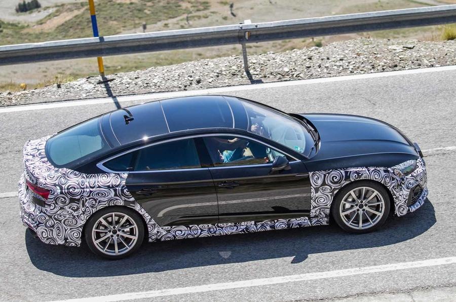 New 2019 Audi RS5 Sportback side on