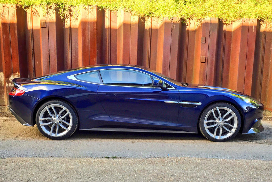 'Our' Aston Martin Vanquish