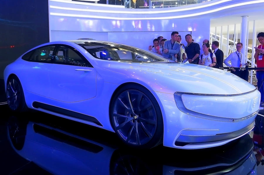 LeEco announces first car plant