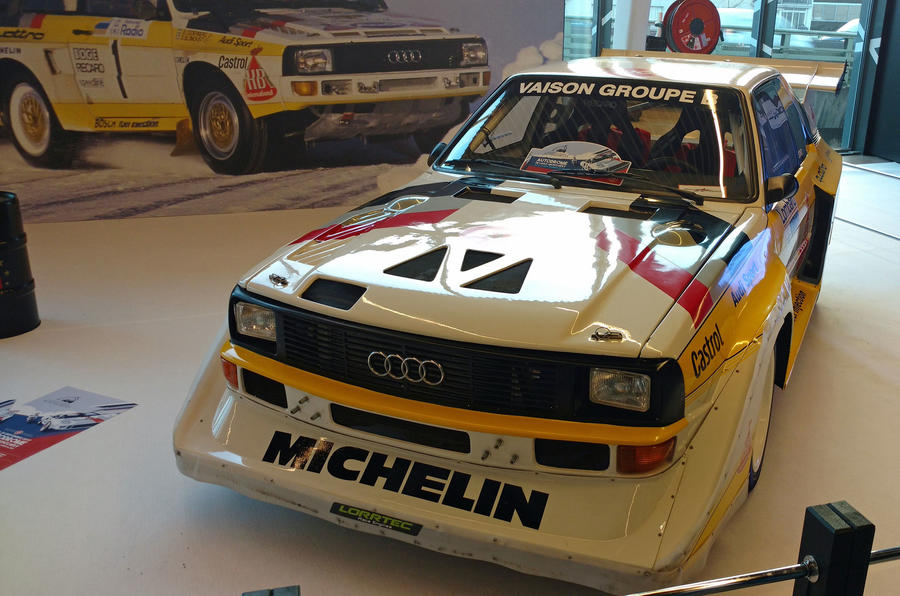 Audi Quattro Group B car