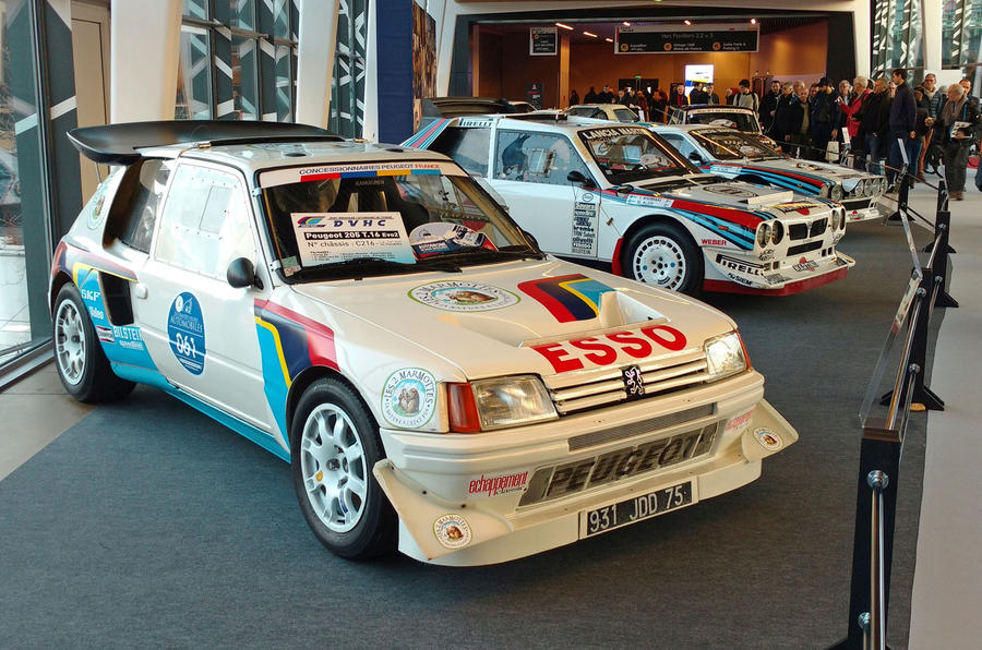Peugeot Group B car