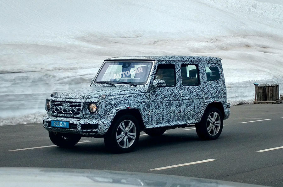 2018 Mercedes-Benz G-Class leaks ahead of Detroit motor show debut