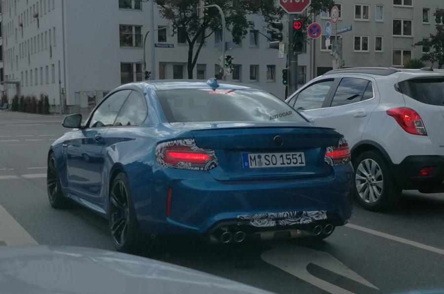 Hardcore BMW M2 CSL under development