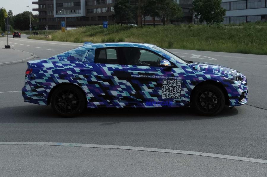 2020 BMW 2 Series Gran Coupé spy shots