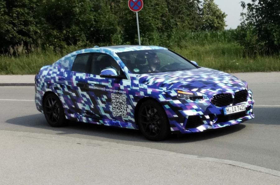 New BMW 2 Series Gran Coupe spotted in range-topping M Sport trim